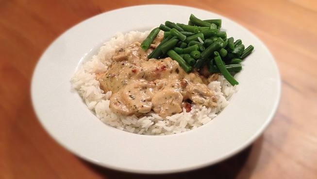 makkelijk rijst gerecht